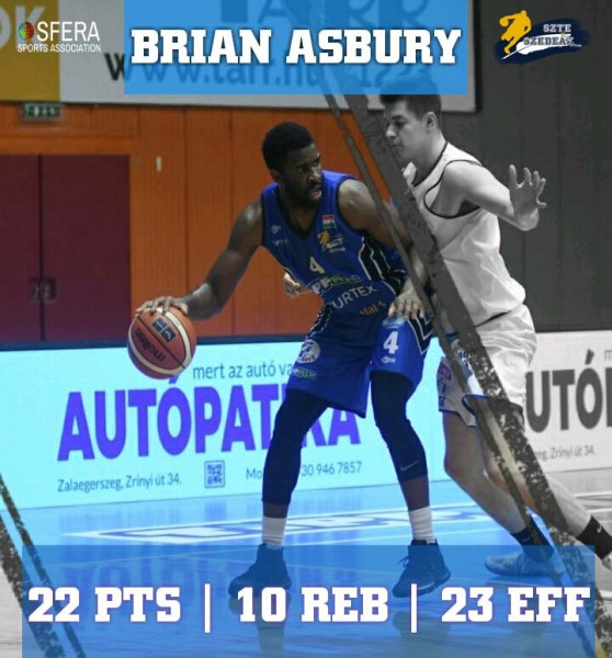A double-double by Asbury!