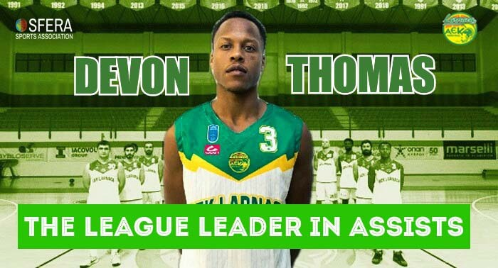Thomas, the league leader in assists!