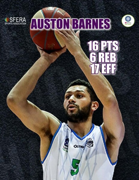 A solid perfomance by Barnes!