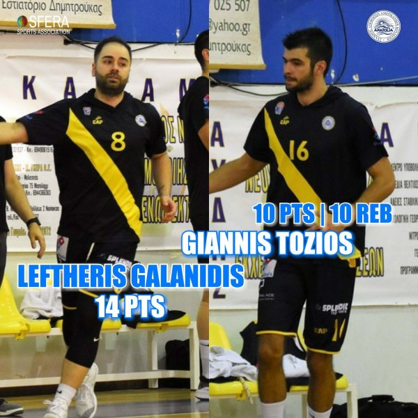 Galanidis and Tozios did a good job for important away win of Anatolia!