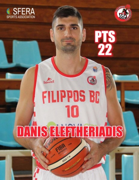 Eleftheriadis led Fillipos Veroia to win for one more game!