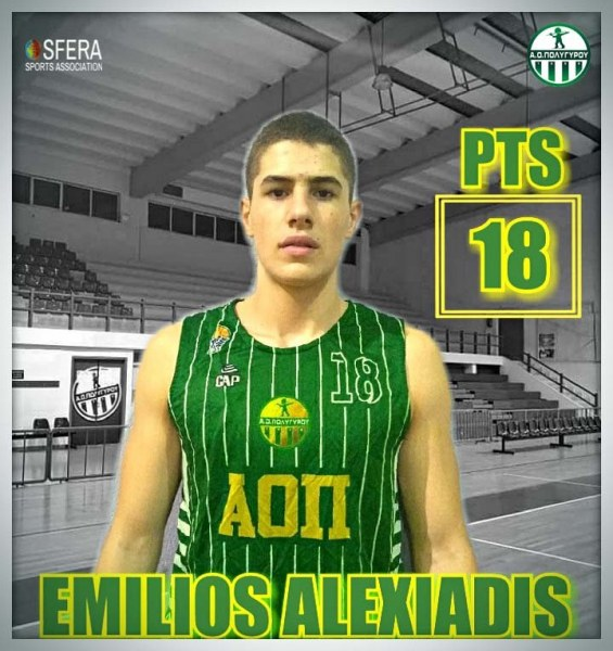 One more good perfomance by 18 year-old Alexiadis!