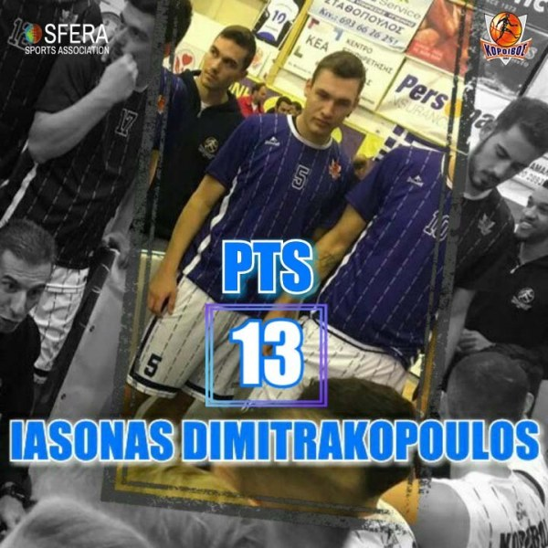 A good game by talented, Dimitrakopoulos!