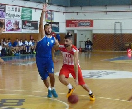 Good game for Naoumis against Panerithraikos