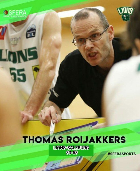 Thomas Roijakkers led Lions to great win against Salzburg!