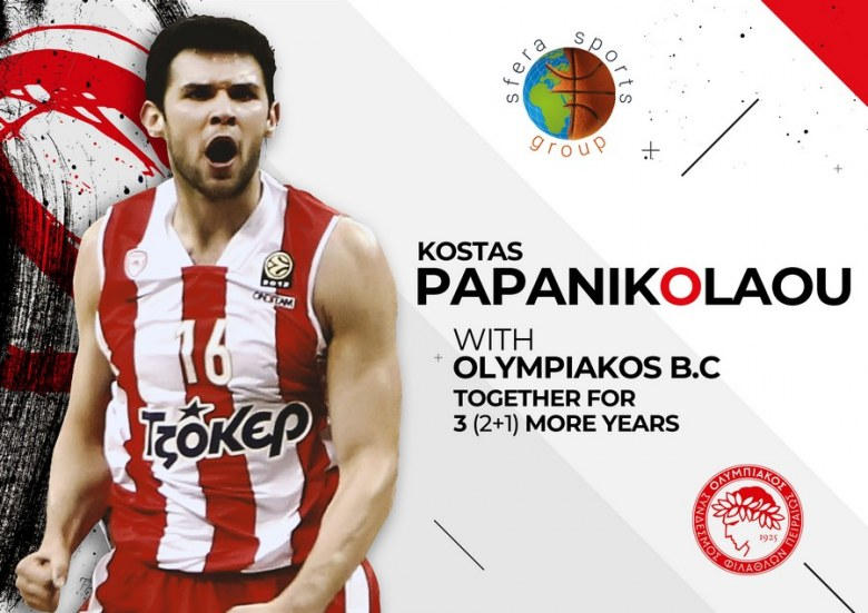 Kostas Papanikolaou signed a new contract (2+1) with Olympiacos!