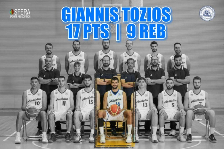 Great game by Tozios!