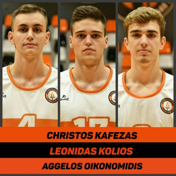 Βest of wishes to Christos Kafezas, Leonidas Kolios and Aggelos Oikonomidis!