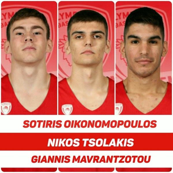 Good luck to Sotiris Oikonomopoulos, Nikos Tsolakis and Giannis Mavrantzotou!
