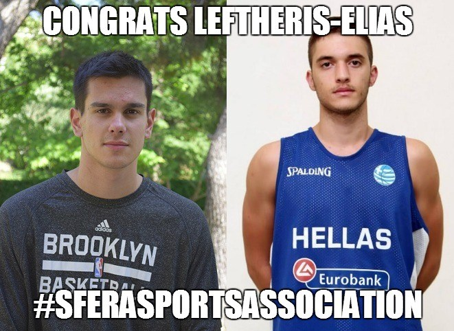 Congratulations Leftheris-Elias!
